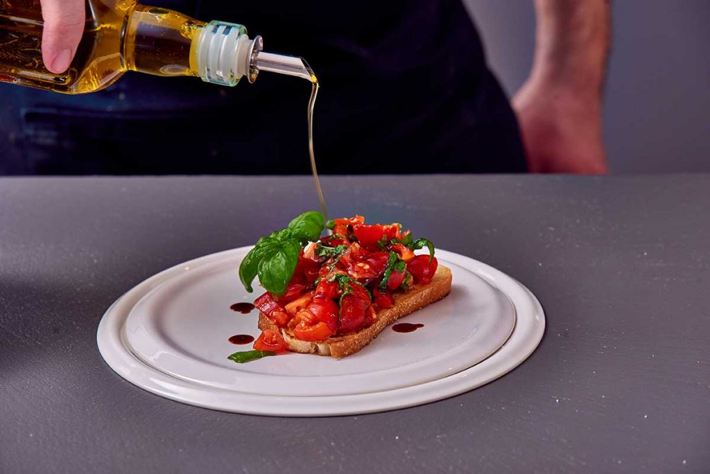 Personal Chef bread bruschetta